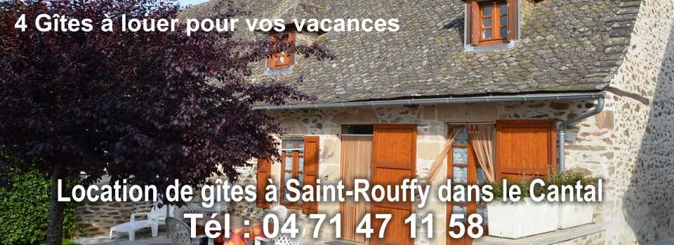 Location de gite Cantal