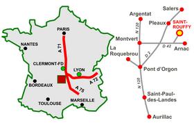 Accès à Saint Rouffy