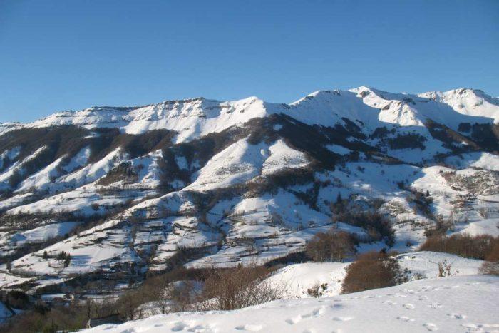 Mont du Cantal Neige