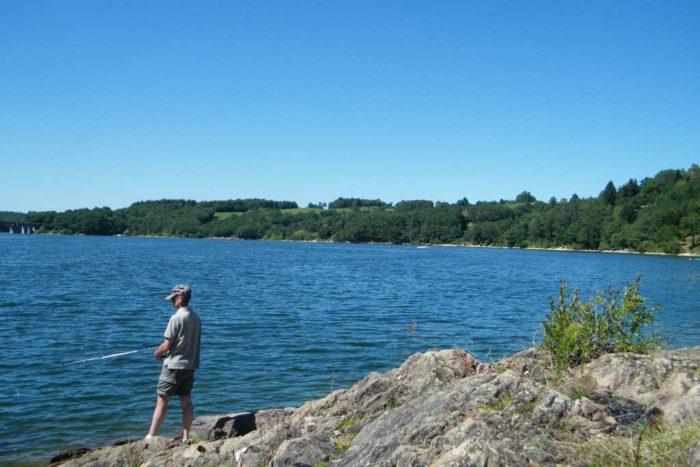 Peche lac Cantal